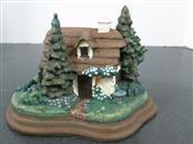 FRANKLIN MINT Collectible Plate/Figurine COZY GLEN COTTAGE
